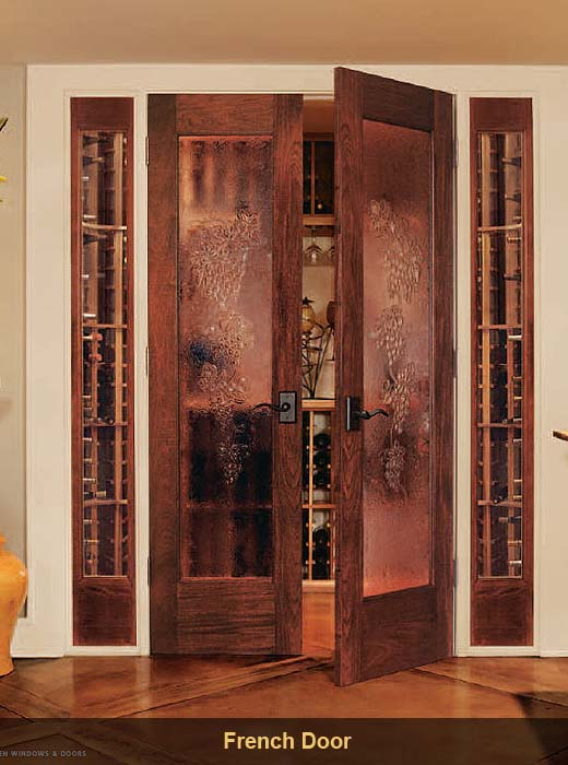 Detroit interior doors detroit interior door for Storm doors for french doors