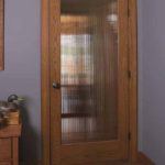 Oak French/Reed Glass